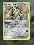 Galarian Meowth SV086/SV122 Shining Fates Shiny Vault Pokemon Card NM Fresh Pull
