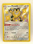 Galarian Meowth SV086/SV122 Shiny Vault Pokemon Shining Fates NM/M Mint