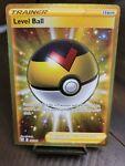 Pokemon TCG Level Ball Secret Rare Gold Battle Styles 181/163 NM