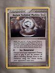 Ancient Technical Machine Ice 84/101 Trainer Holo Hidden Legends Pokemon Card NM