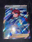 Skyla Full Art Rare Trainer Pokémon Card Shining Fates 072/072 Mint