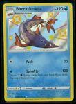 Pokemon SHINY BARRASKEWDA SV032/SV122 Shining Fates RARE HOLO - MINT