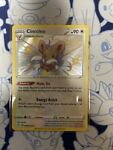 Shiny Cinccino SV094/SV122 Holo Rare Pokémon Shining Fates Shiny Vault - NM/M