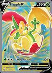 x1 Flapple V - 143/163 - Full Art Ultra Rare Pokemon SS05 Battle Styles M/NM