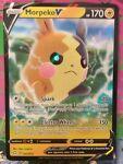 Morpeko V 037/072 Ultra Rare Full Art Shining Fates Pokemon Card NM/M