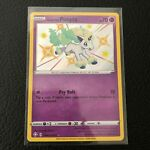 Pokemon Shining Fates Shiny Vault Galarian Ponyta Holo Rare Card SV047/SV122