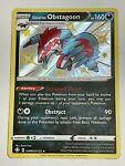 Galarian Obstagoon SV080/SV122 Shiny Rare Shining Fates Pokémon TCG NM