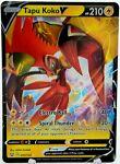 Tapu Koko V 050/163 Battle Styles NM Full Art Ultra Rare Pokemon Card