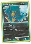 Pokemon Card: Murkrow REVERSE HOLO 90/123 Mysterious Treasures Set! GD