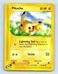 Pikachu 124/165 Non-Holo Expedition Base Set Pokemon Card au26