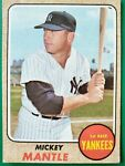 1968 topps mickey mantle