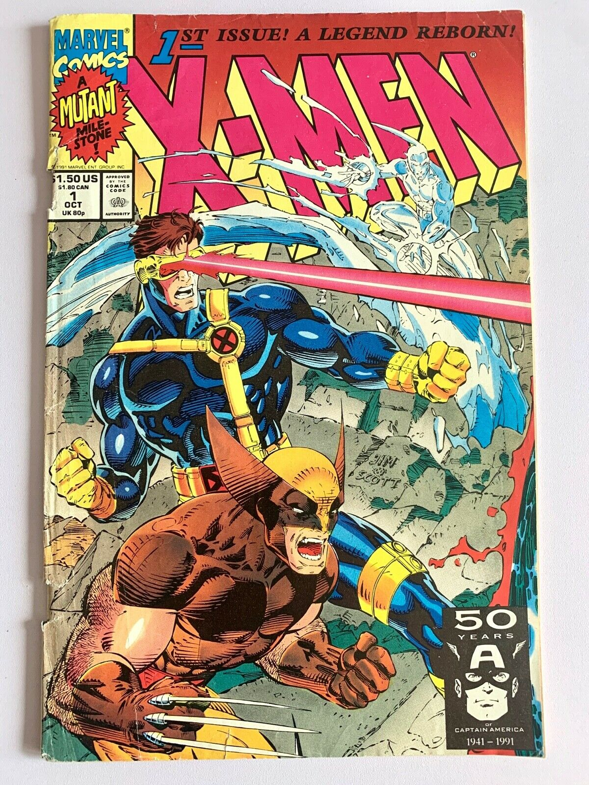 X Men 1st Issue A Legend Reborn See What It S Worth Mavin Price Guide