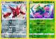 Scizor 128/192 Scyther 004/192 Reverse Holo Pokemon Card Set Rebel Clash NM+