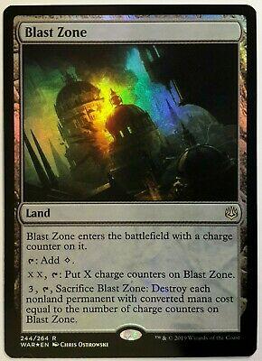 War of the Spark Blast Zone Near Mint
