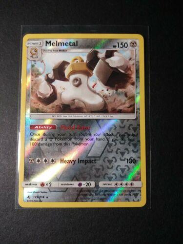 Melmetal Unbroken Bonds 129/214 Revers Holo Rare NM Pokemon Card