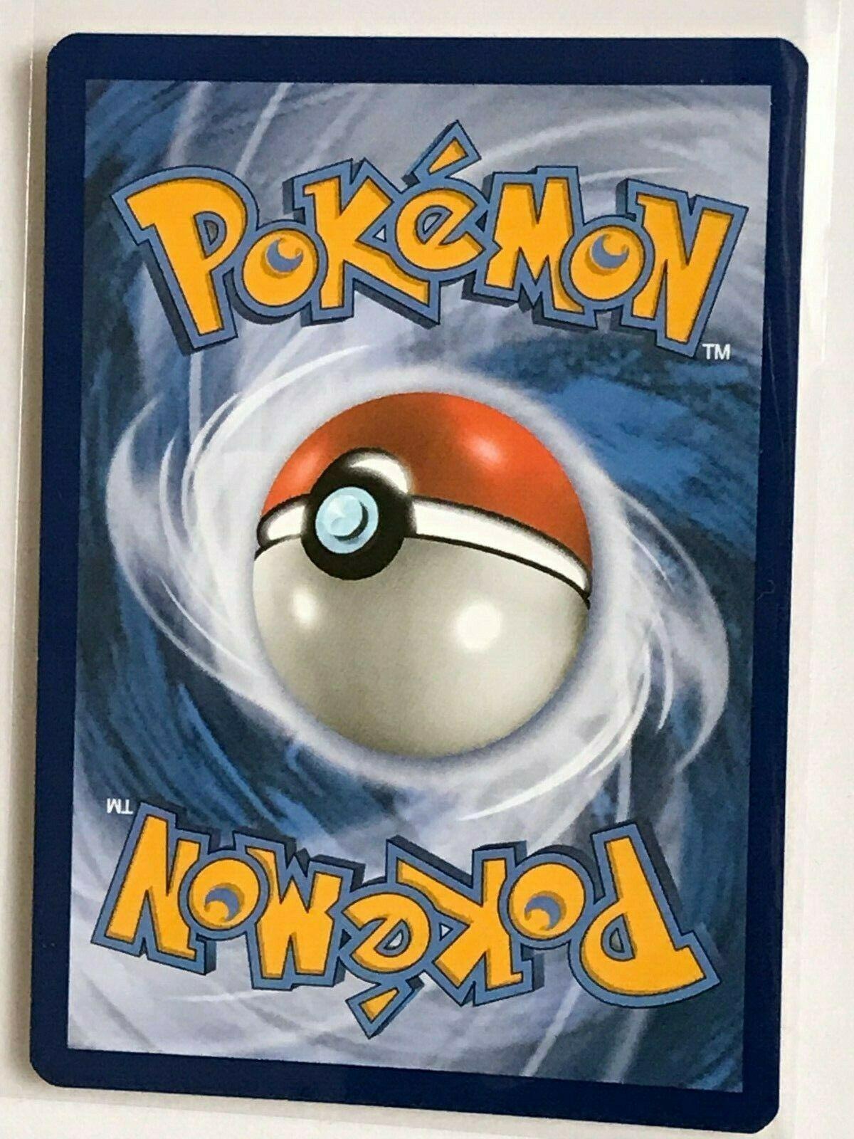 Lucario HOLO RARE 126/214 Pokemon SM Unbroken Bonds NM Card TCG Foil - Image 2