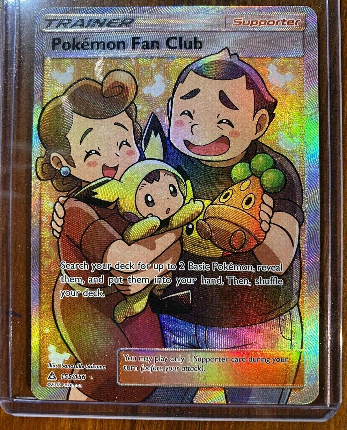 155//156 Pokemon Fan Club Full Art SM Ultra Prism