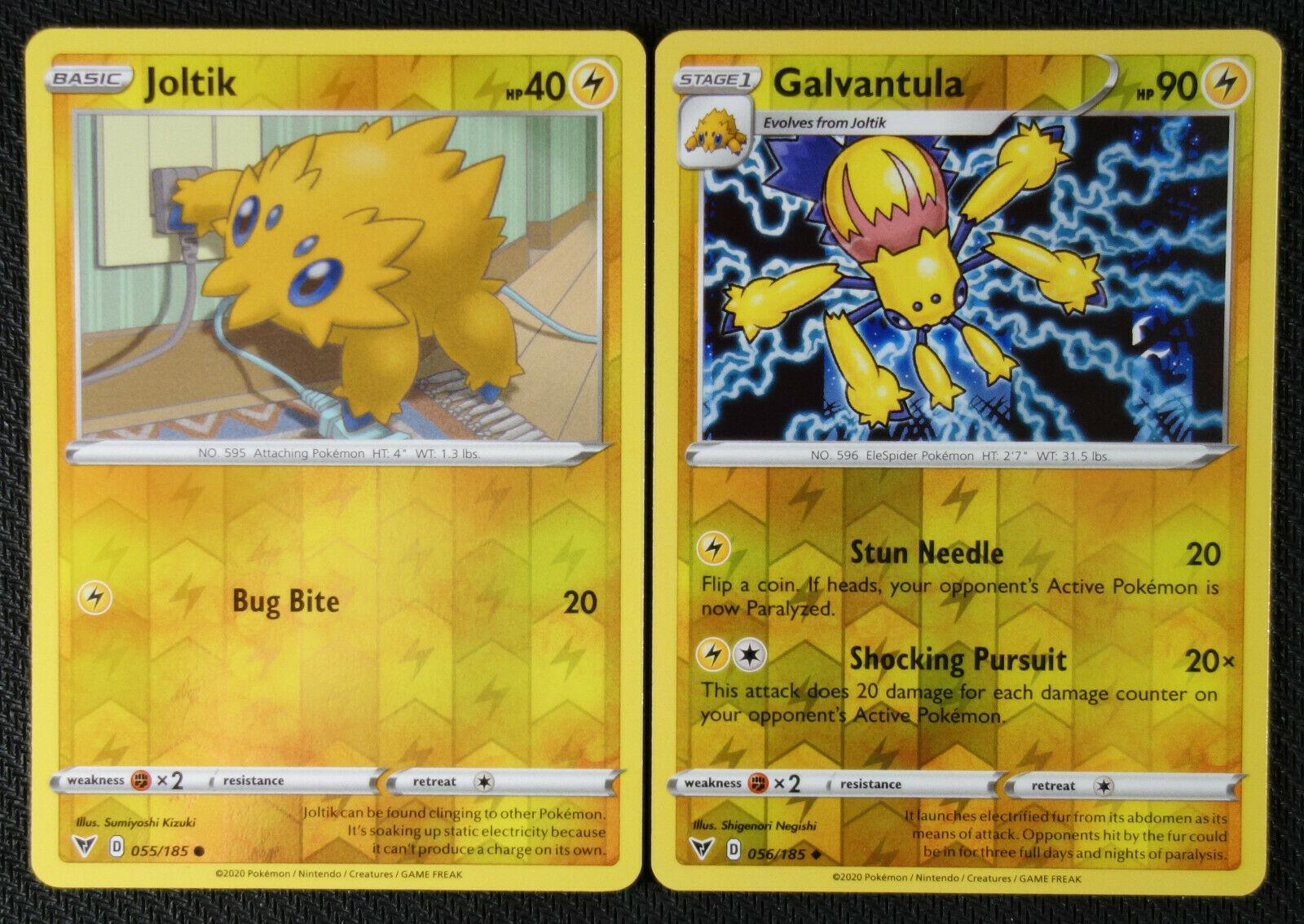 Galvantula 056//185 Reverse Holo Pokemon TCG Vivid Voltage Near Mint IN HAND