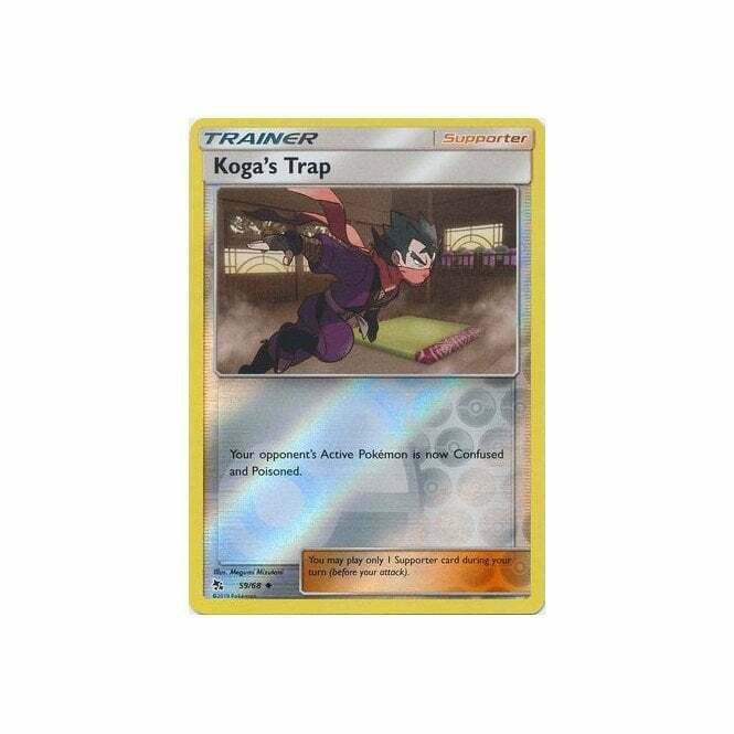 MINT 4X Pokemon KOGA/'S TRAP 59//68 Hidden Fates